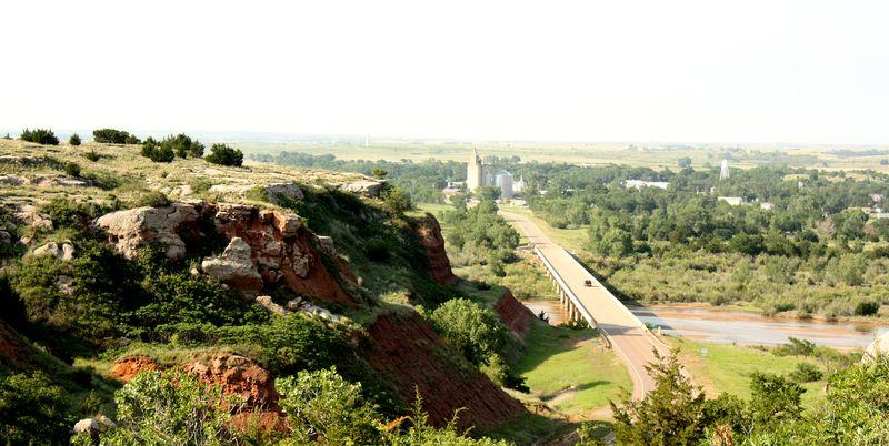 Cimarron River Freedom Oklahoma