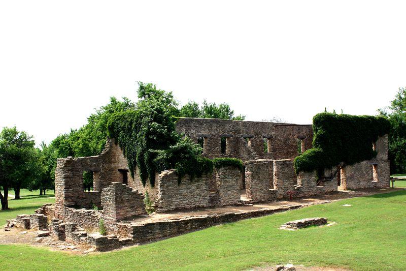 Barracks Ruins Washita