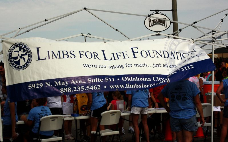 Limbs for Life Sign