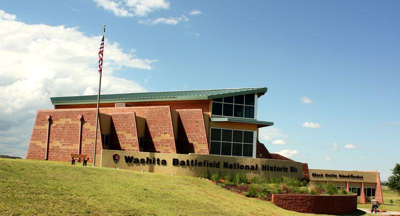 Washita Battlefield visitors center
