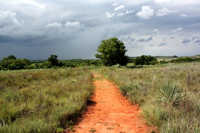 Washitabattlefield trail