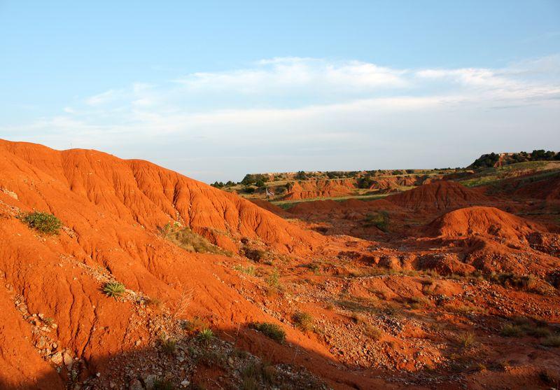 Gloss Mountains Red Mesas
