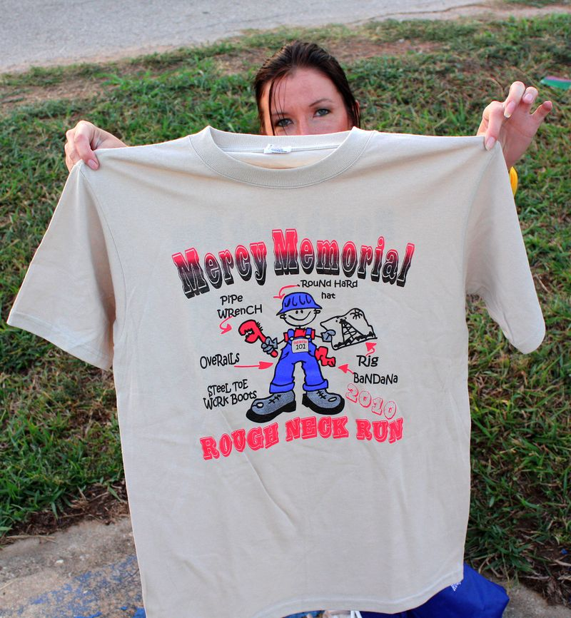 Roughneck Run Tee Shirt 2010
