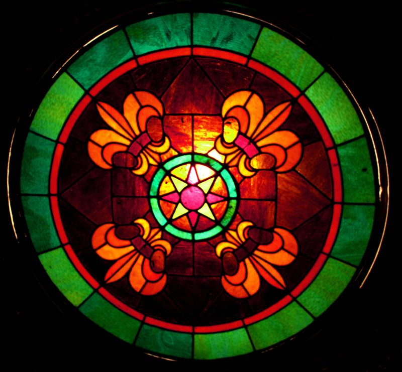 Ponca City Theater Stained Glass