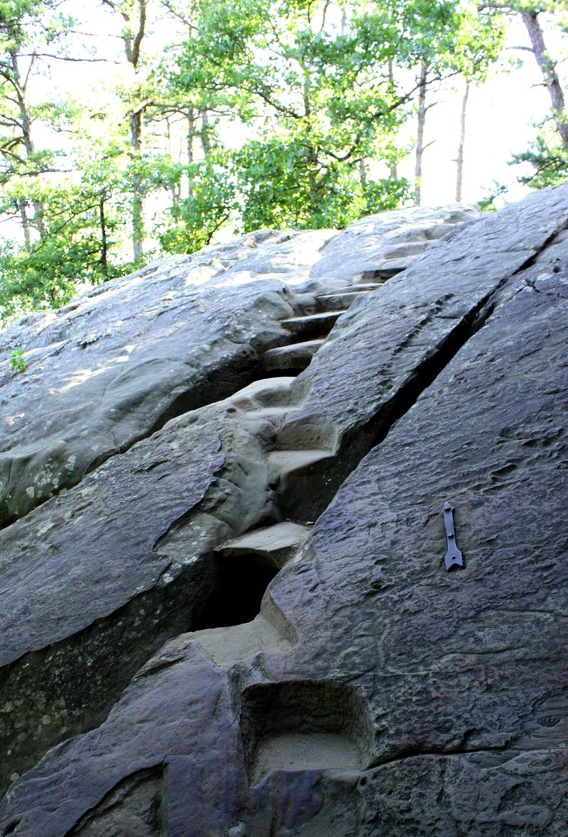 Stone Steps Robbers cave