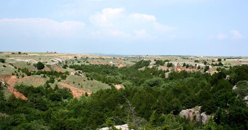 Alabaster Caverns Landscape
