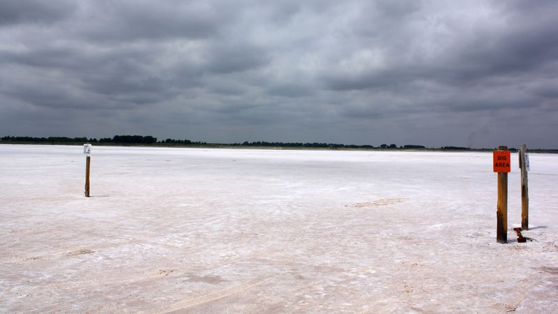 Salt Plains Dig Area
