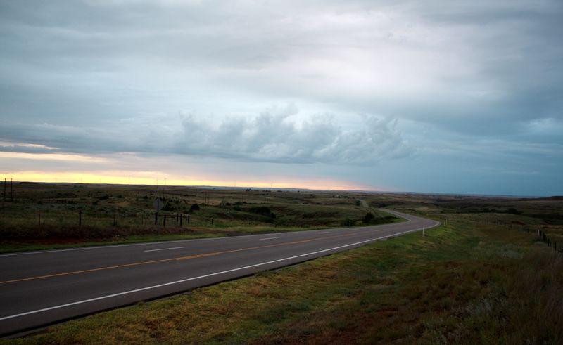 Highway 183 near buffalo