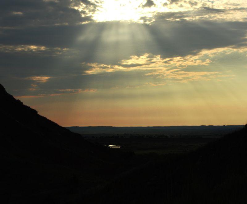 Gloss MOuntain Sunset 2