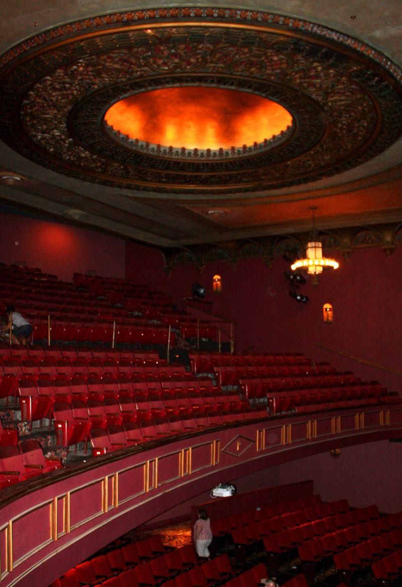 Ponca City Theater Interior 2