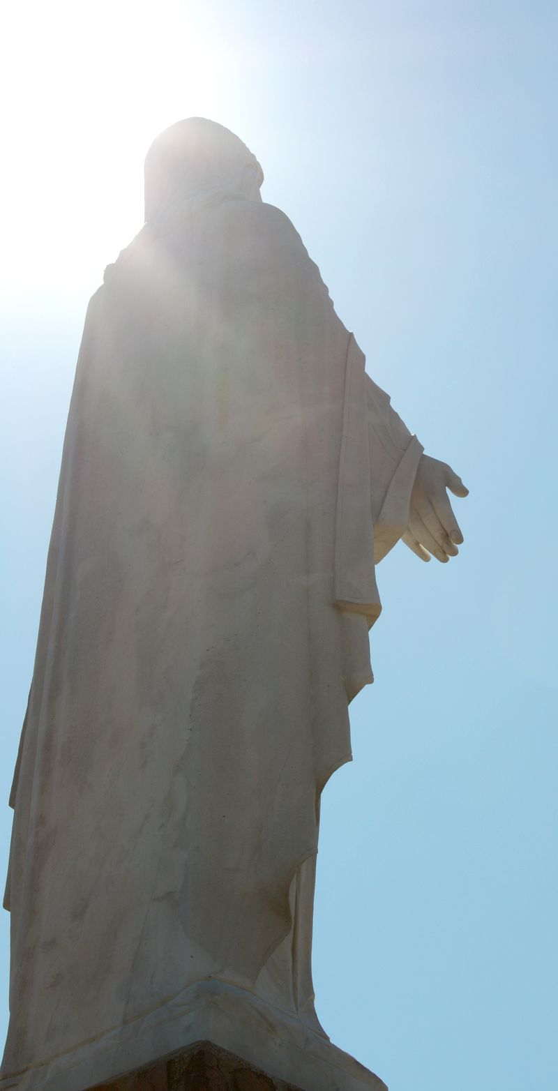 Jesus Statue at the Holy City 2