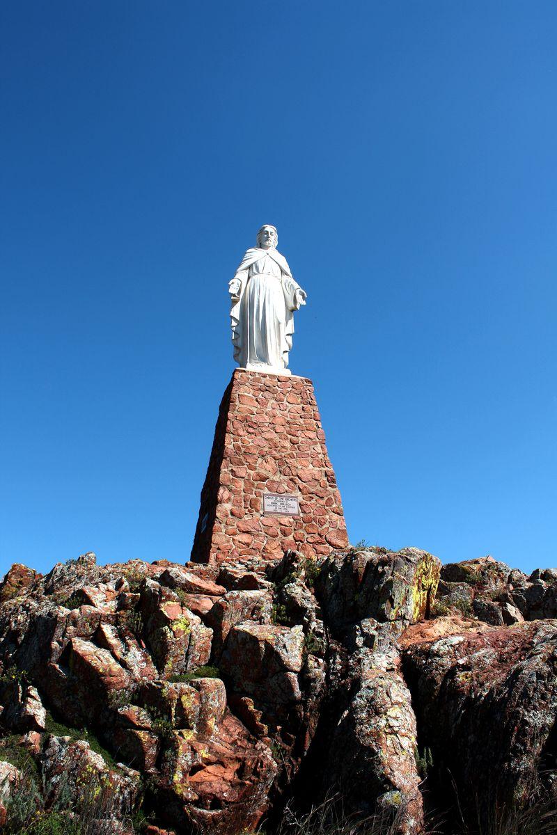 Jesus Statue Holy City Lawton