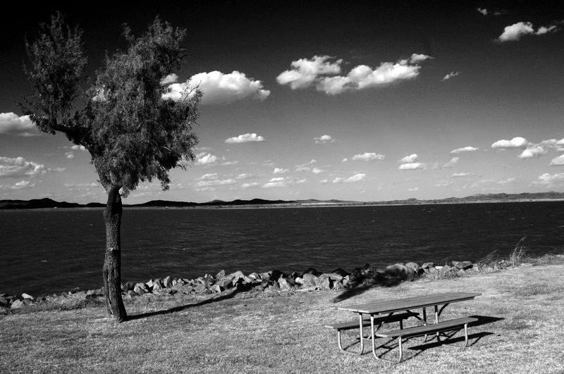 Lake Tom Steed BW