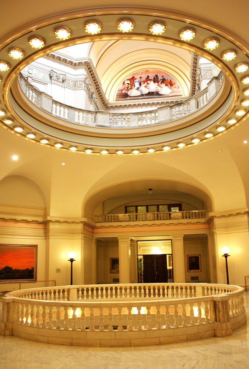 Interior Oklahoma Capitol