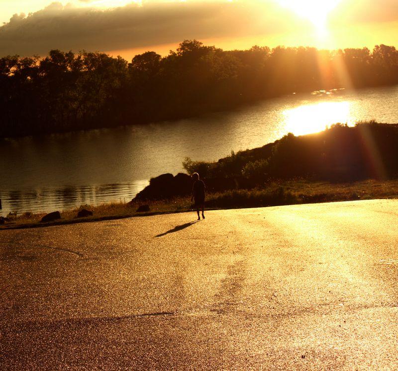 November Foss Lake Justin surreal