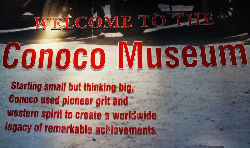 Conoco Museum Sign