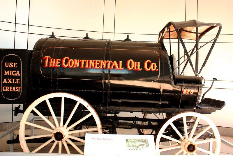 Conoco Museum Truck