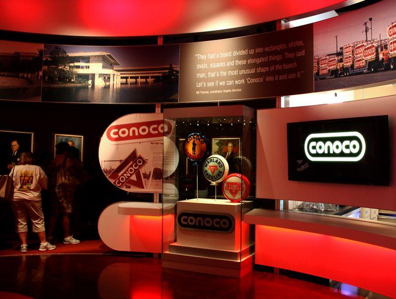 Conoco Museum Exhibit