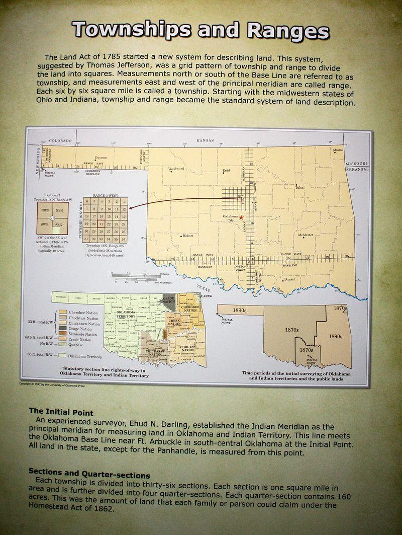 Townships and Ranges Description
