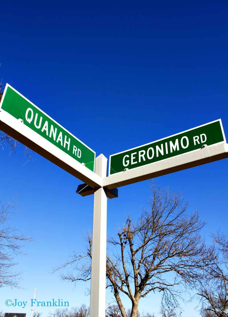 Quanah Geronimo Sign