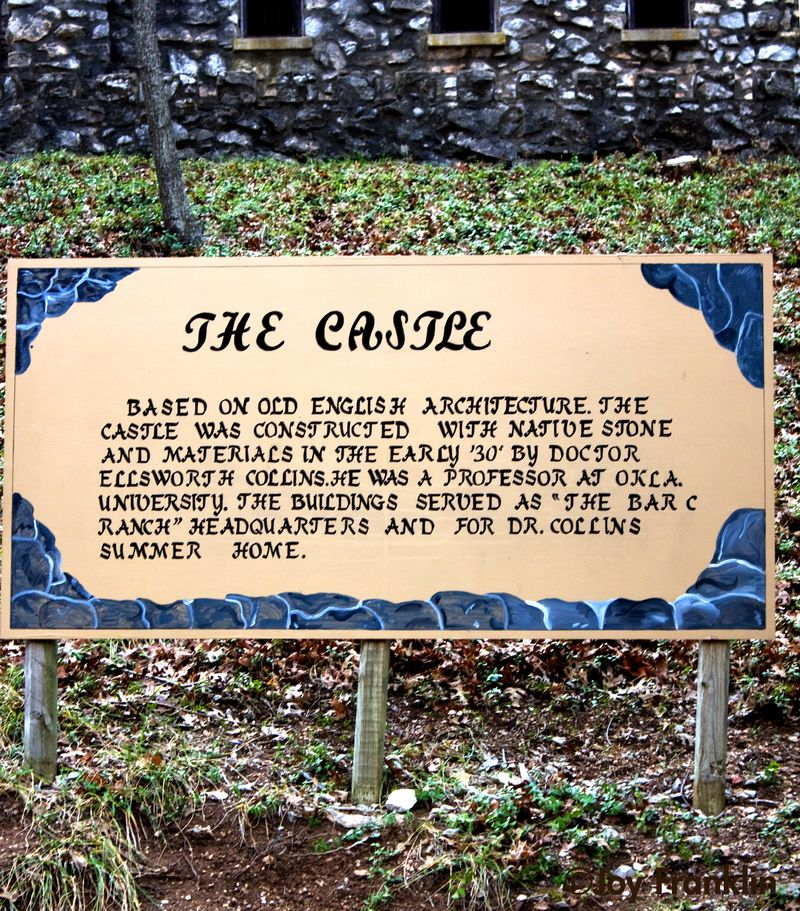 Castle Sign at Turner Falls