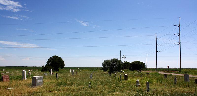 Cemetery Near Hollis Oklahoma
