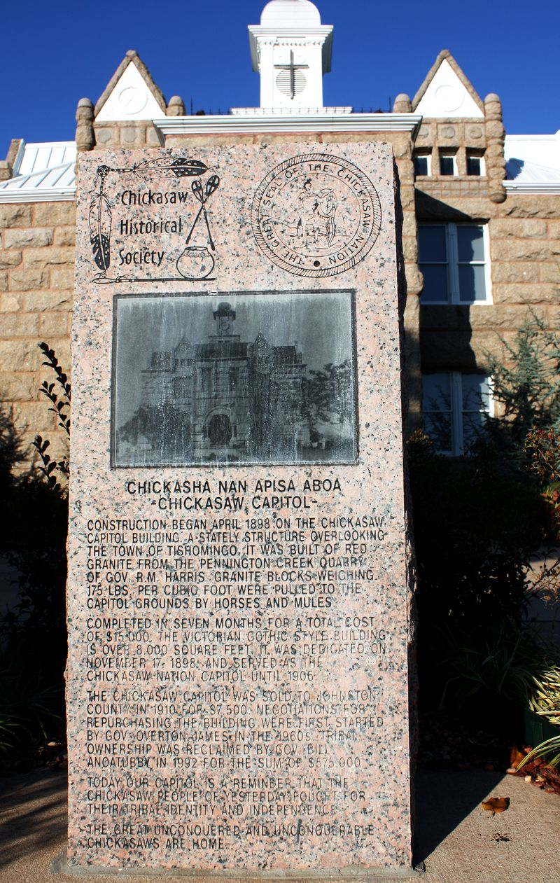 Chickasaw Historical Marker