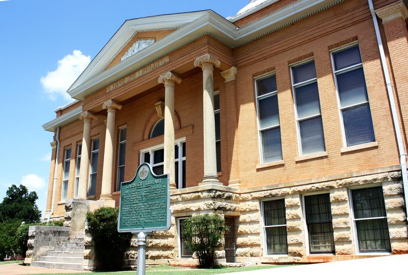 Carnegie Library at the Territorial Museum