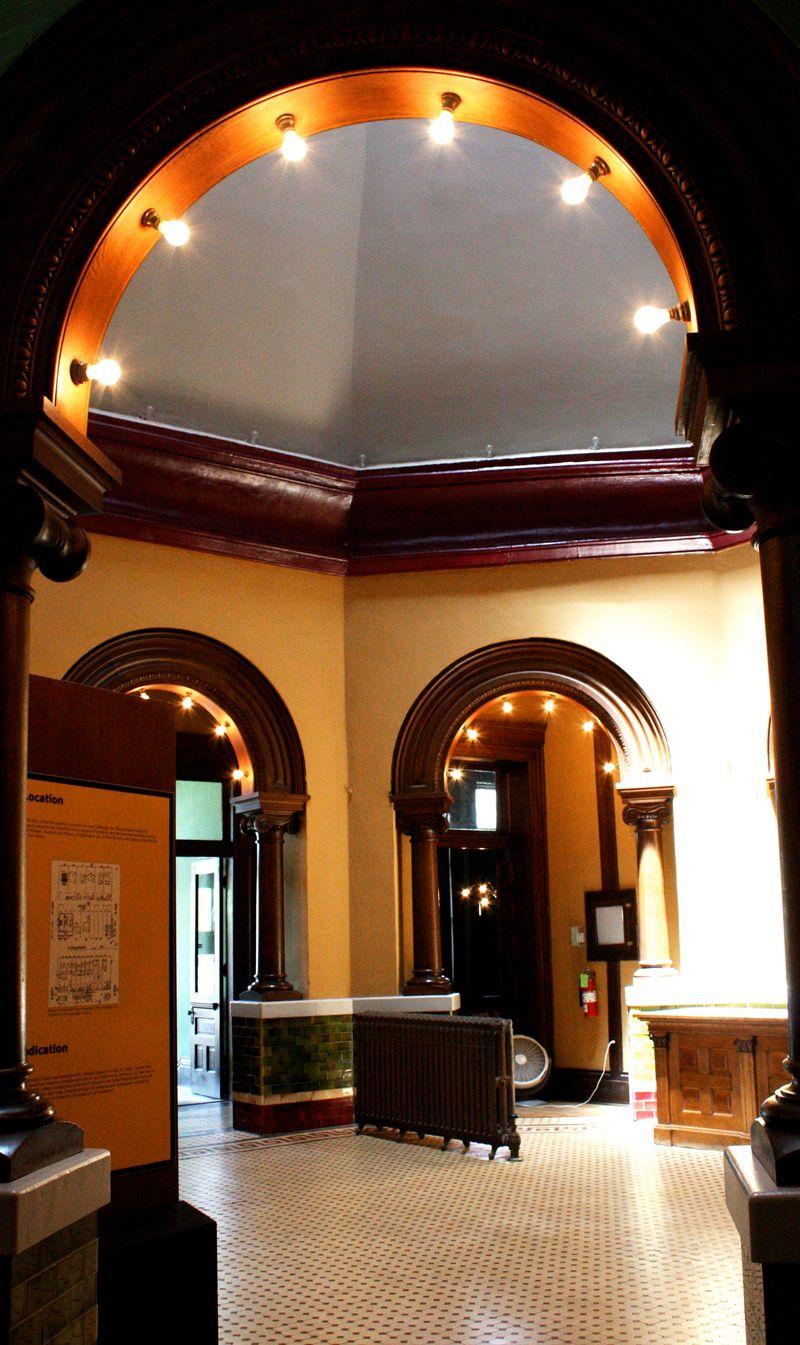 Carnegie Library Guthrie Interior
