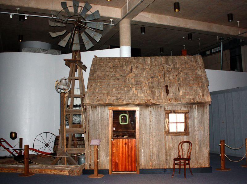 In the Territorial Museum