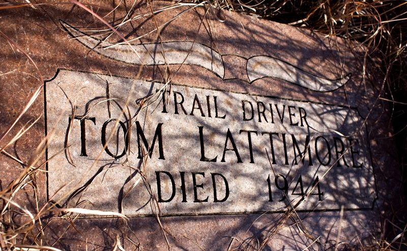 Tom Lattimore Grave Addington