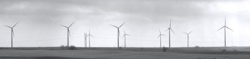 Windfarm near Weatherford