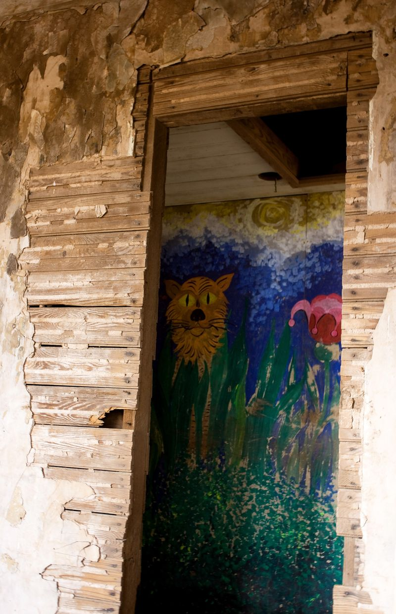 Mural in Abandoned House 2
