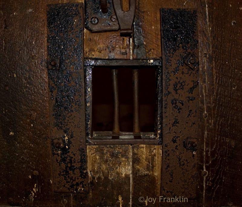 Door of old Jail Cell