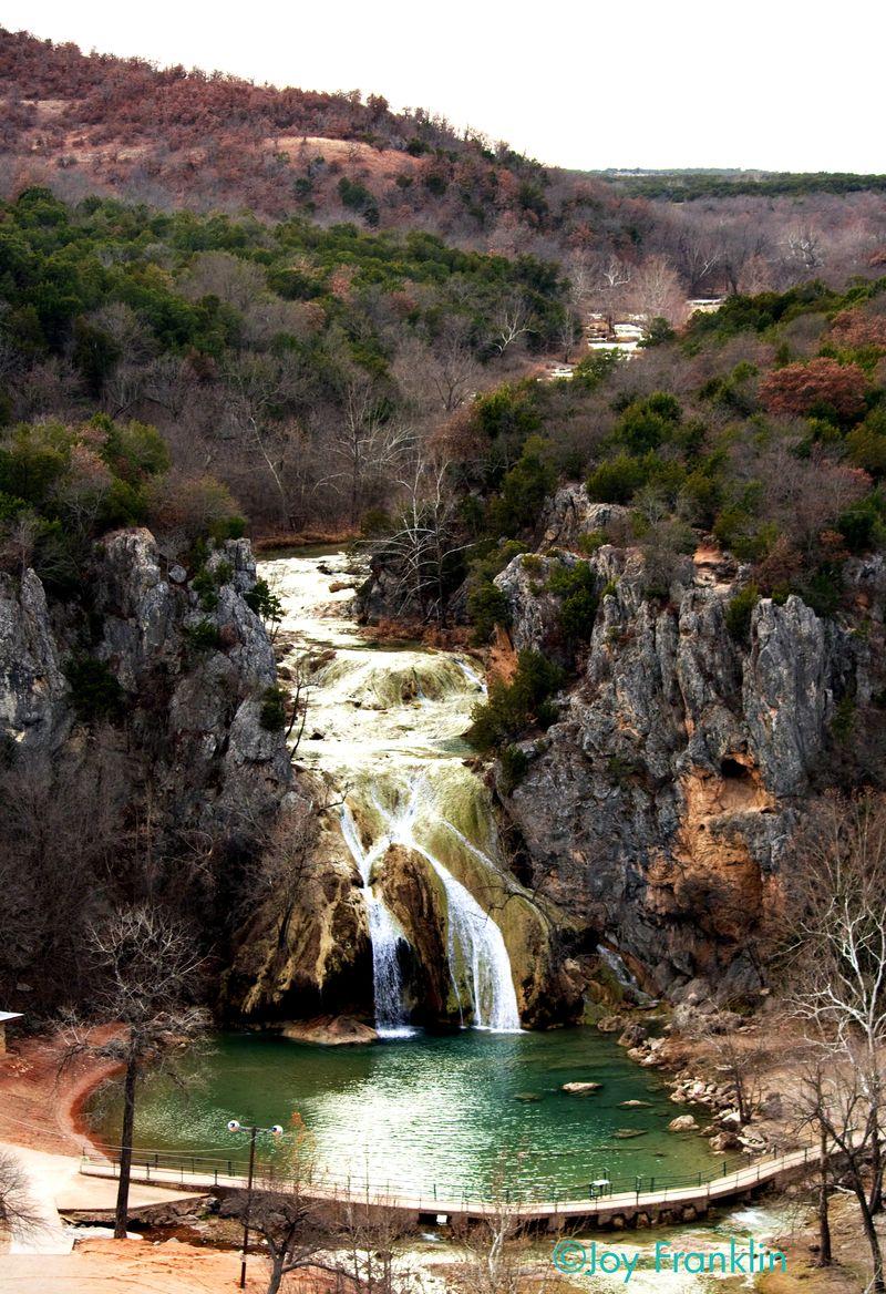 Turner Falls Scenic View