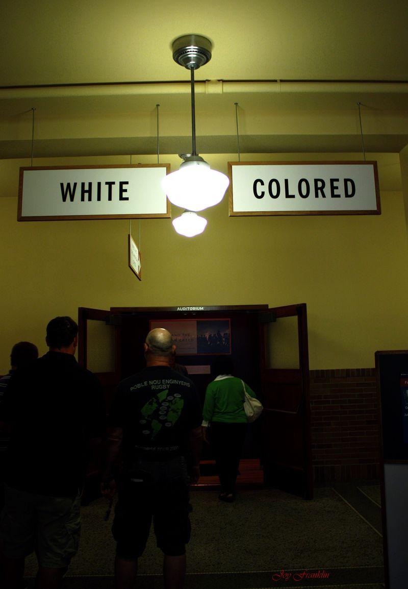 Inside the Monroe School Brown vs Board Site