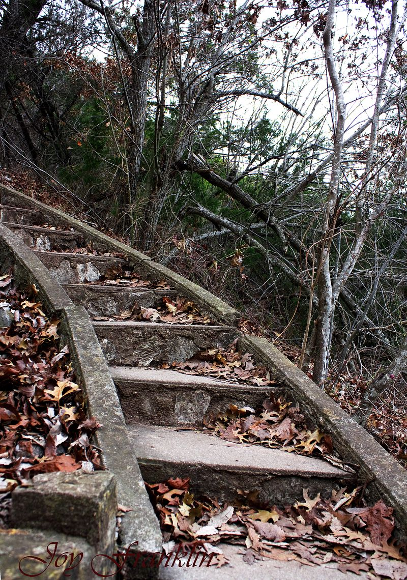 Stairs to Castle Turner Falls
