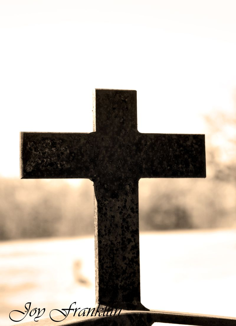 Cross on Gate at Tucker Cemetery