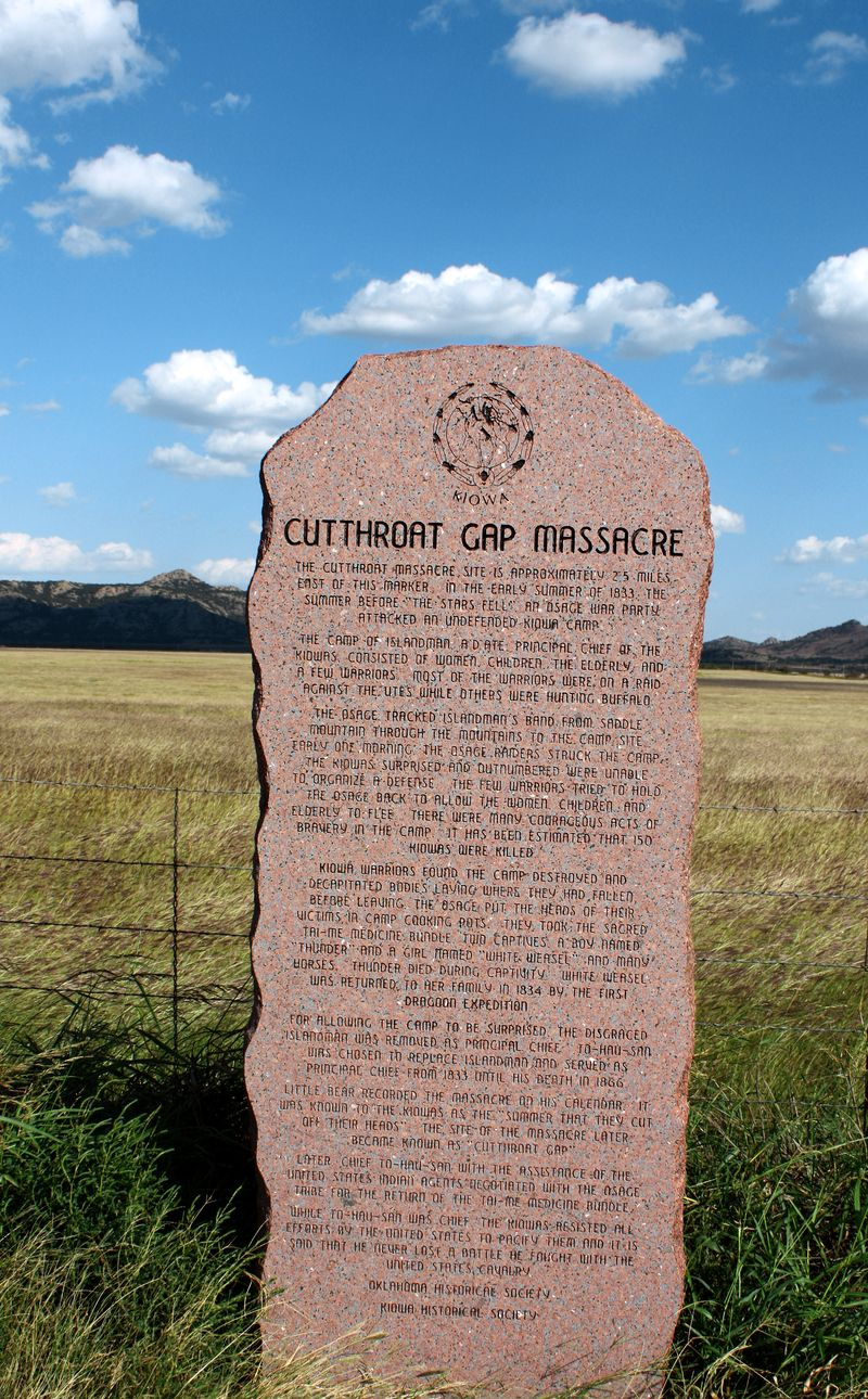 Cutthroat Gap Massacre Kiowas