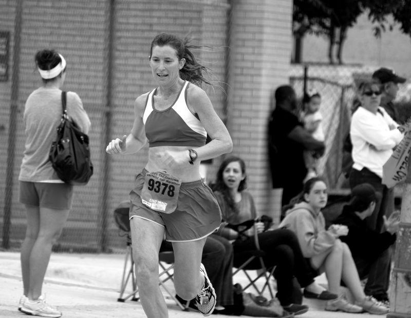 Lori Stitch half marathon cowtown