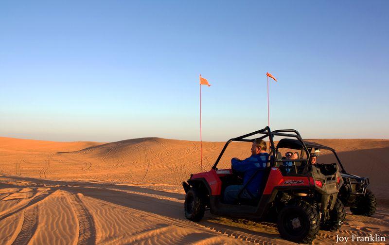 Steve on a Dune