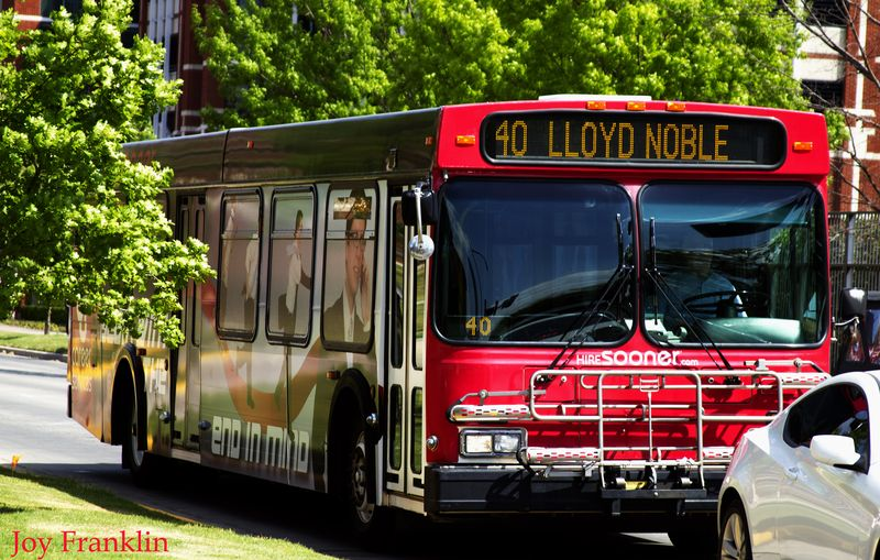 Bus to Lloyd Noble
