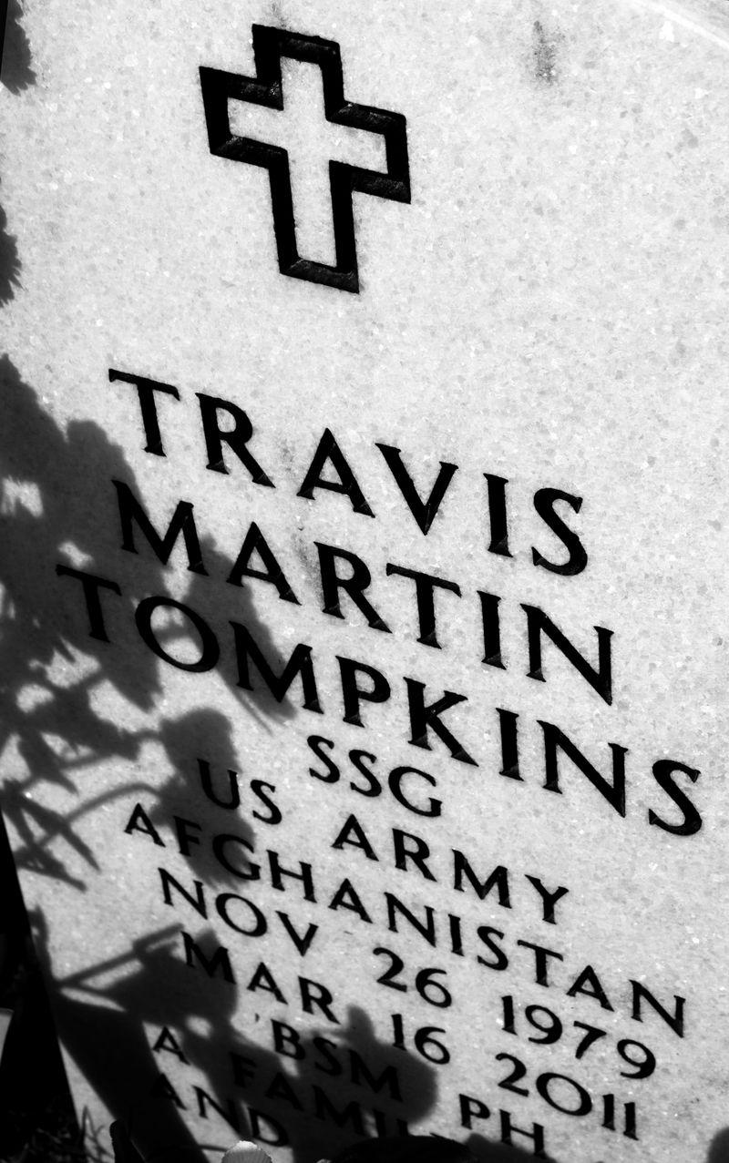 Travis Martin Tompkins Grave