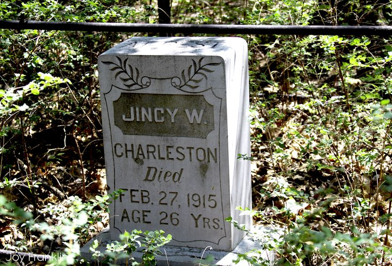 Jincy Charleston Grave Cruce Cemetery