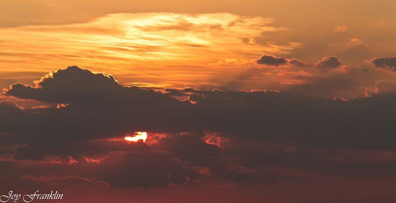 July Sunset Near Hennipen  (1 of 1)