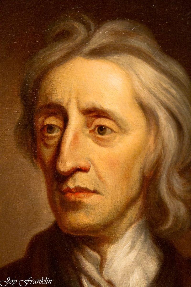 Portrait of John Locke OKCMOA-018