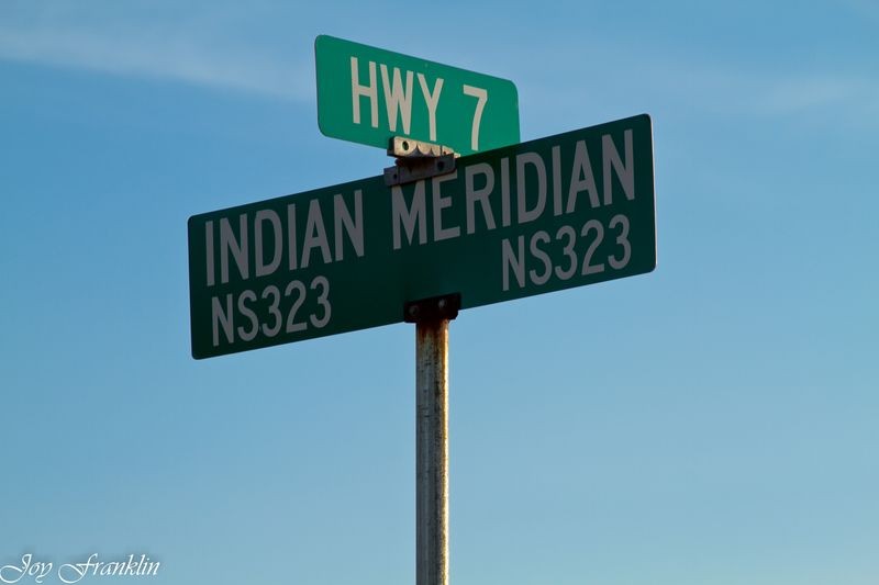 Highway 7 and Indian Meridian near Ft. Arbuckle-244