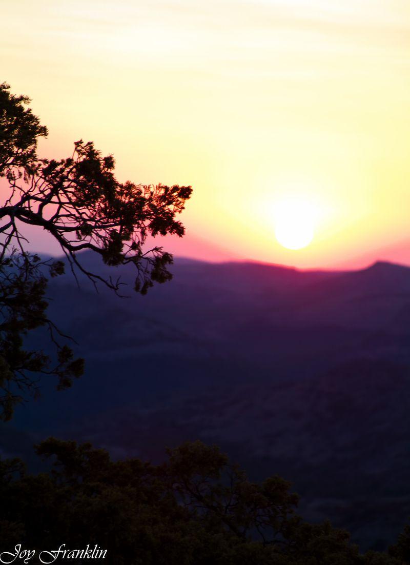 Mt Scott Sunset  (1 of 1)