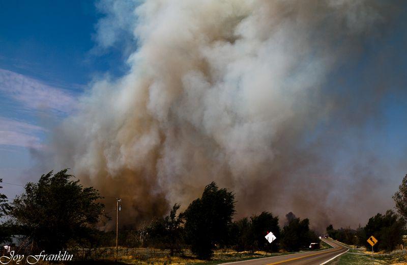 Smoke near Rush Springs (1 of 1)