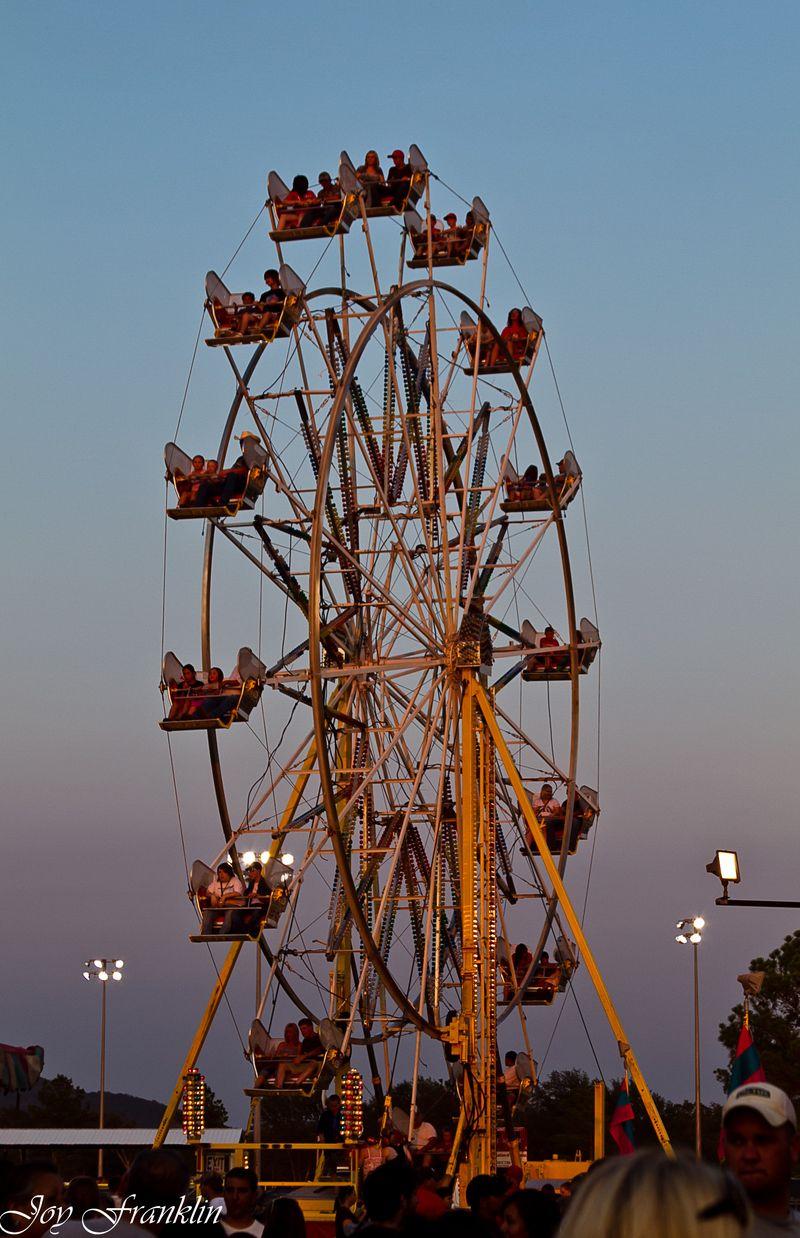 Ferris wheel at sunset (1 of 1)